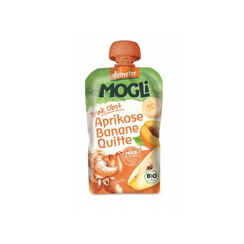 Piure eco/bio de caise, banane şi gutui 100g | Mogli