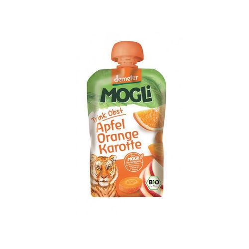 Piure eco/bio de mere, portocale şi morcov 100g | Mogli