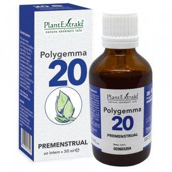 POLYGEMMA Nr.20 (Premenstrual), 50ml | Plantextrakt