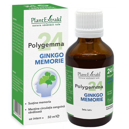 POLYGEMMA Nr. 24 (Ginkgo Memorie), 50ml   Plantextrakt