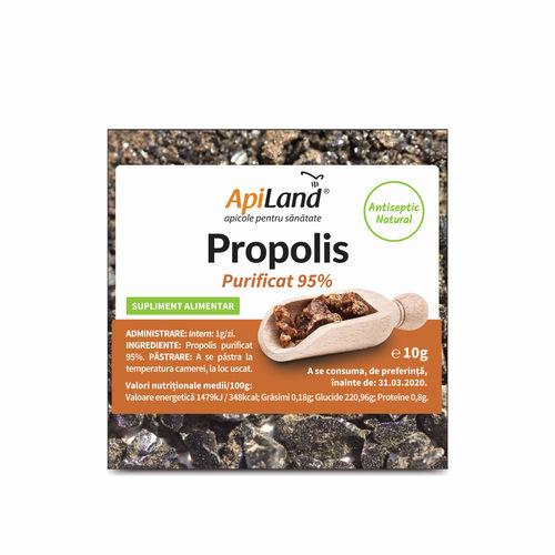 Propolis brut purificat 95% | ApiLand