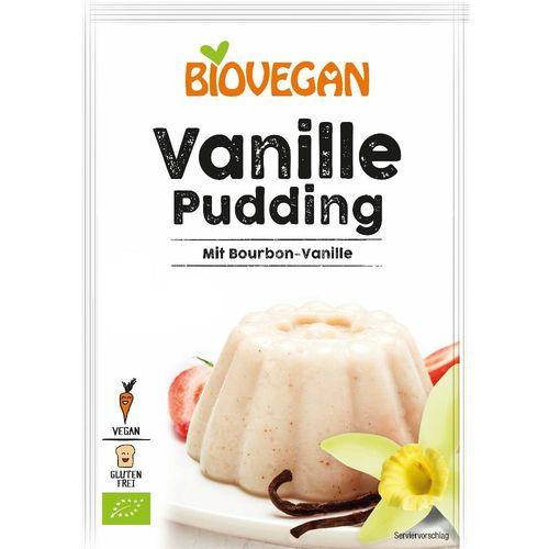 Pudra budinca vanilie FARA GLUTEN 33g   Biovegan