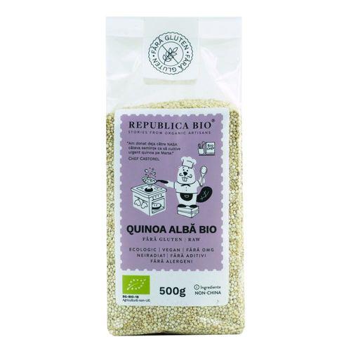 Quinoa Albă Bio Fără Gluten, 500g | Republica BIO