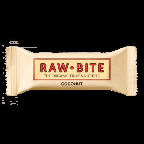 BATON FARA GLUTEN COCONUT (NUCA DE COCOS), Bio, 50G, RAW-BITE