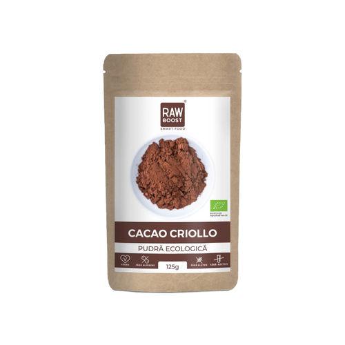 Cacao Criollo pudră ecologică | Rawboost