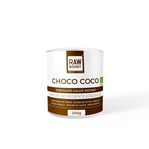 Choco Coco ciocolată caldă ecologică   Rawboost