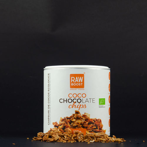 Chipsuri de Cocos-Coco Chocolate | Rawboost