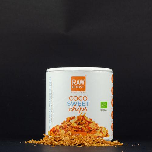 Chipsuri de Cocos-Coco Sweet   Rawboost