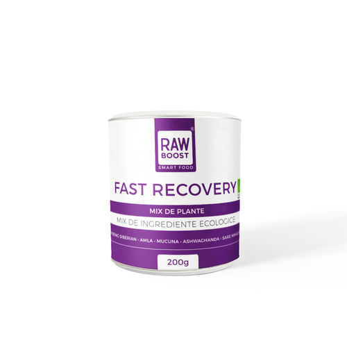Fast Recovery, Mix de Plante, 200g | Rawboost