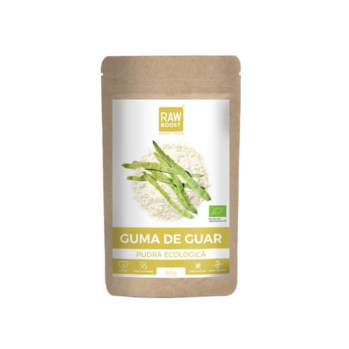 Guma de Guar pudra 60g  | Rawboost