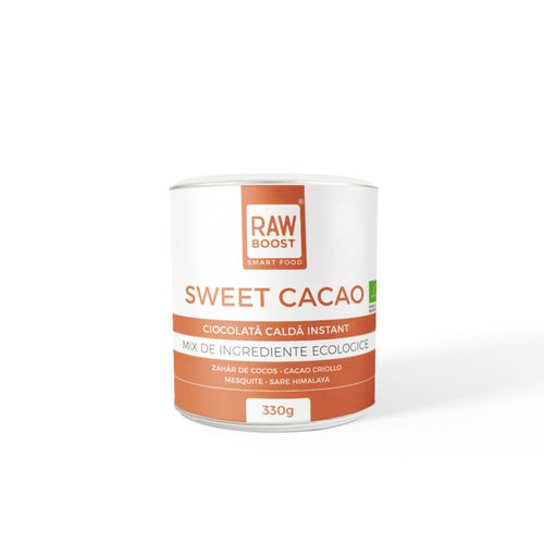 Sweet Cacao-Cacao Dulce Ecologică 330g | Rawboost