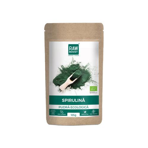 Spirulină, pudră ecologică | Rawboost