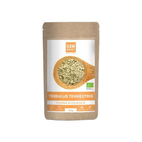 Tribulus Terrestris pudră ecologică 125g | Rawboost