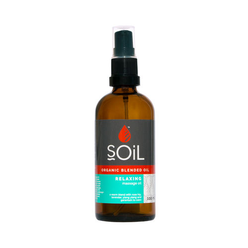 Ulei de Masaj de Relaxare Ecologic/Bio, 100ml | SOiL