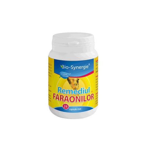 Remediul Faraonilor- Ulei de chimen negru 500 mg, 24cps moi | Bio-Synergie Activ
