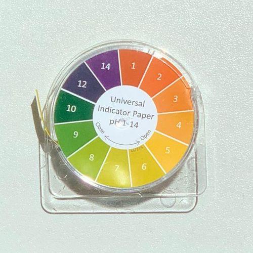 Rolă Hârtie pH 1-14, 5 metri | Metria