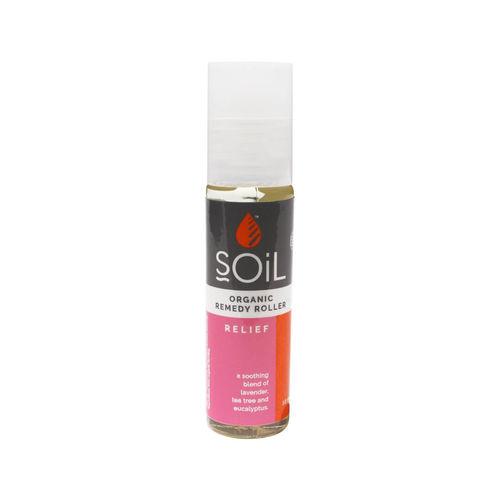 Roll-On Relief cu Uleiuri Esențiale Ecologice/Bio 11 ml | SOiL