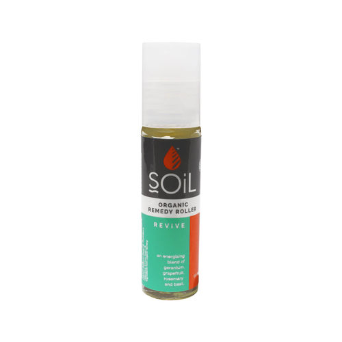 Roll-On Revive cu Uleiuri Esențiale Ecologice/Bio 11 ml | SOiL