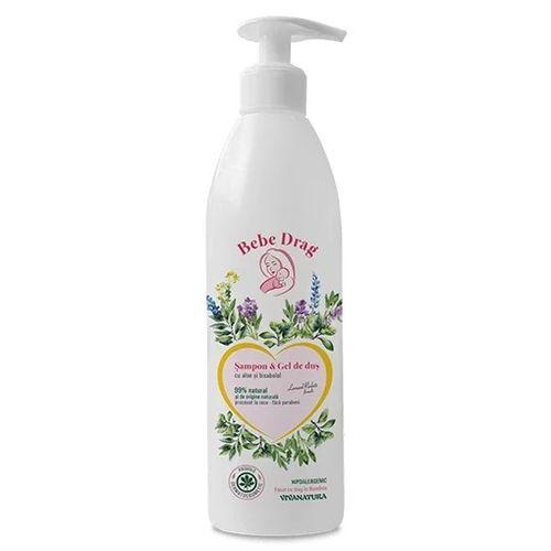 Bebe Drag Șampon – Gel de Duș cu Aloe și Bisabolol, 500ml   Vivanatura