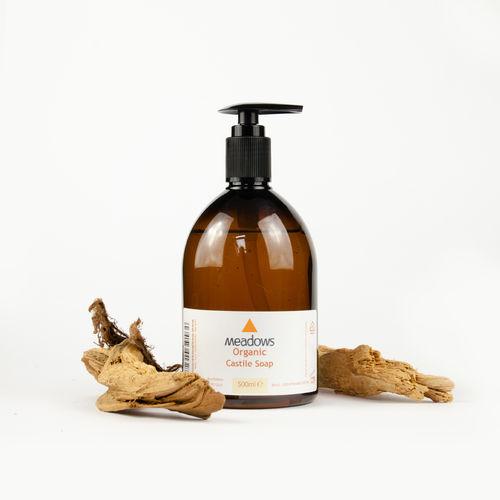 Săpun de Castilia Organic, 500ml | Meadows Aroma