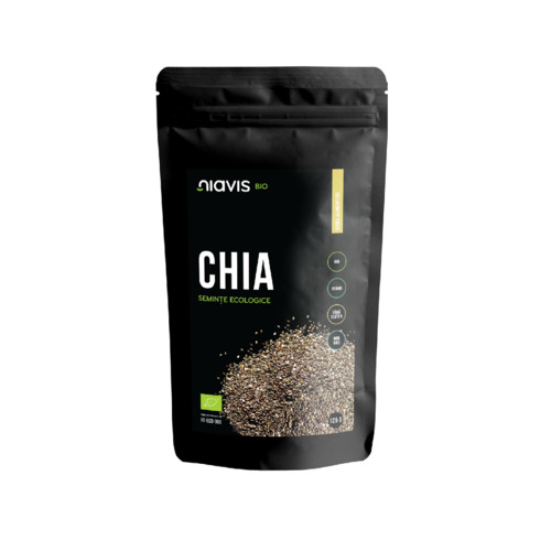 Seminţe de Chia Ecologice/Bio 125g | Niavis