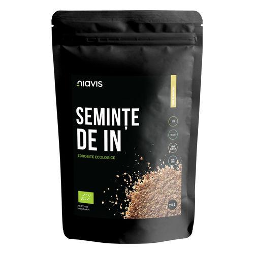 Seminţe de In zdrobite Ecologice/Bio 250g | Niavis