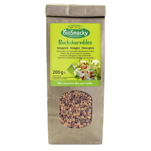 Seminte de schinduf pentru germinat 200g   Rapunzel - BioSnacky