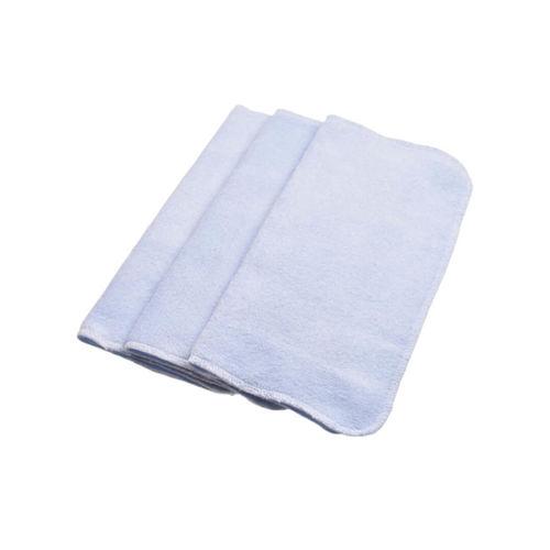 Set 3 Miniprosopele Frotir Bambus 100% Bleu   Păturica Fermecată