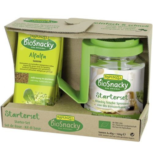 Set Starter pentru germinat | Rapunzel - BioSnacky