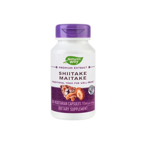 Shiitake Maitake SE, 60 capsule vegetale | Secom