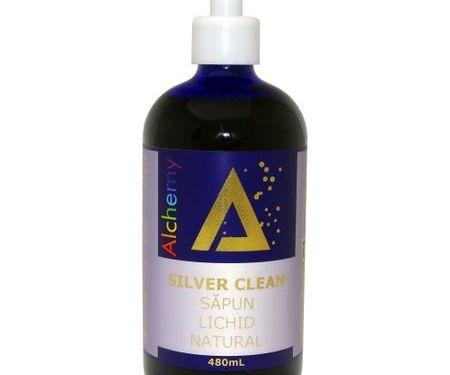 Silver Clean, Săpun lichid natural, cu aur și argint