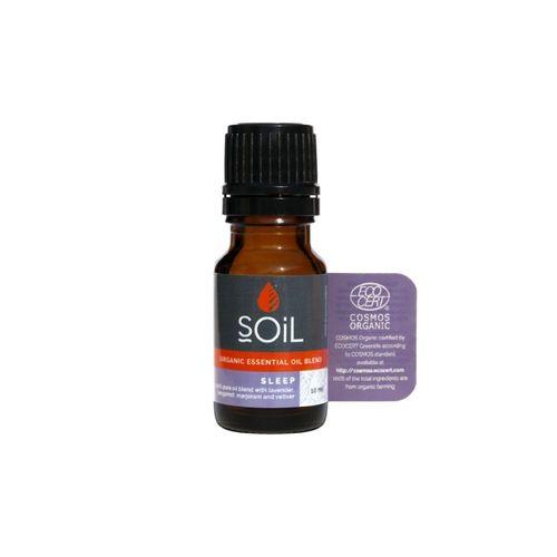 Amestec de Uleiuri Esențiale 10 ml Sleep Pure 100% Organice ECOCERT | SOiL