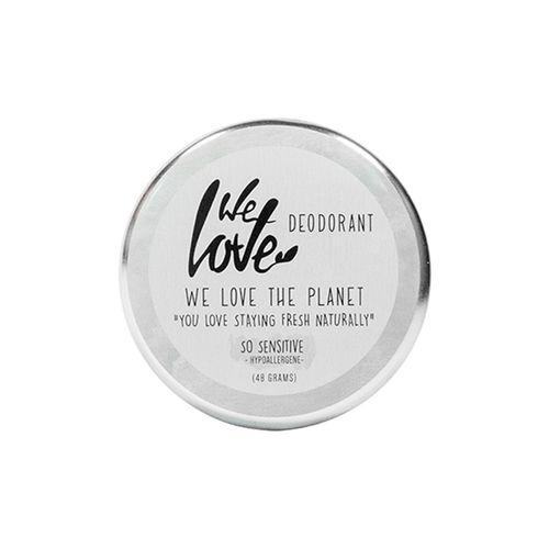 Deodorant Natural Cremă - SO Sensitive - Cutie Metalică, 48g   We Love The Planet