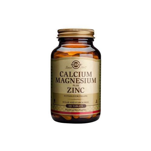 Calcium Magnesium + Zinc 100 tablete | Solgar