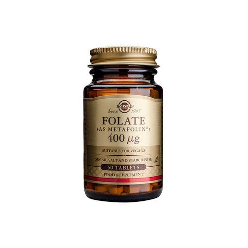 Folate (As Metafolin) 400mcg 50 tablete | Solgar