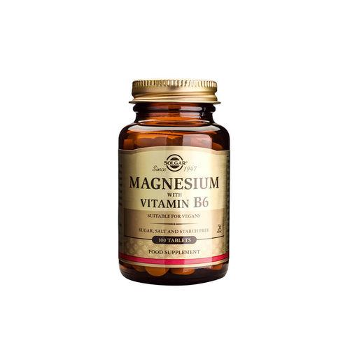 Magnesium + B6 100 tablete | Solgar