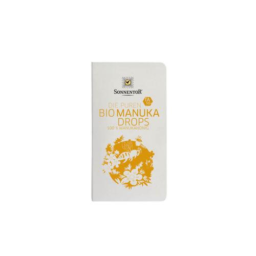 Dropsuri (Doze individuale) Miere de Manuka TA10+ 100% pure, Eco/Bio 22.4g  | SONNENTOR