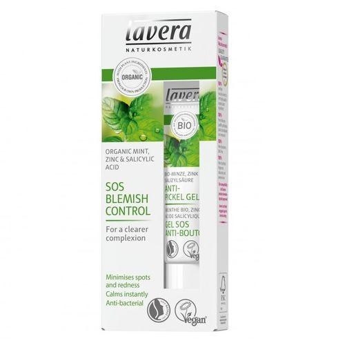 Gel SOS Anti Acnee cu Mentă, Zinc și Acid Salicilic Natural, 15ml | Lavera