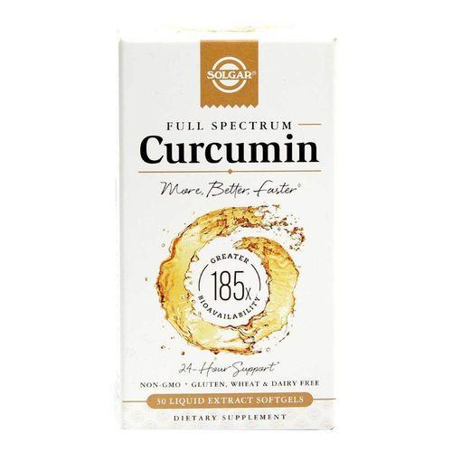 Curcumin Full Spectrum, 30 capsule moi | Solgar