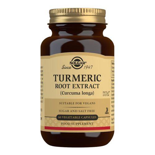Turmeric Root Extract (Extract din Turmeric), 60 capsule | Solgar