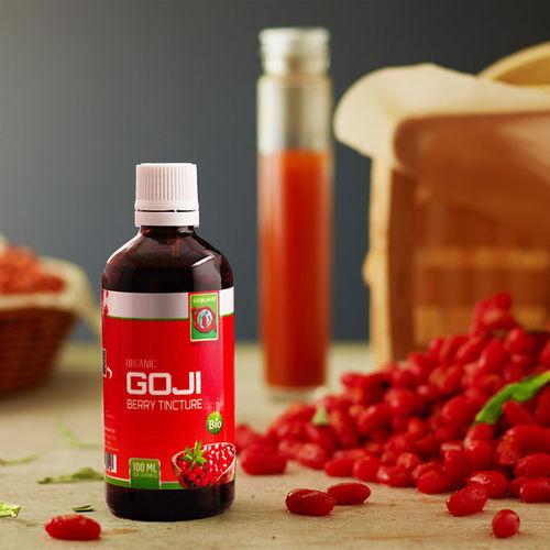 Tinctură din fructe de Goji Bio, 100 ml   Gojiland
