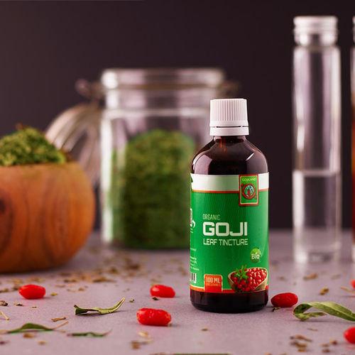 Tinctură din frunze de Goji Bio, 100 ml | Gojiland