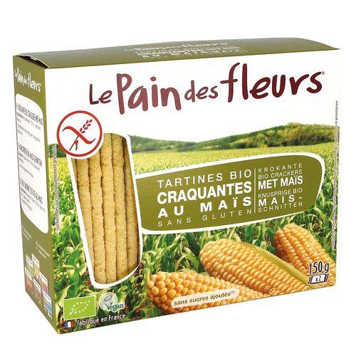 Turte Crocante din Porumb și Orez Fără Gluten, 150g | Le Pain des Fleurs