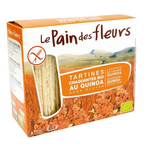 Turte Crocante cu Quinoa Fără Gluten, 150g | Le Pain des Fleurs