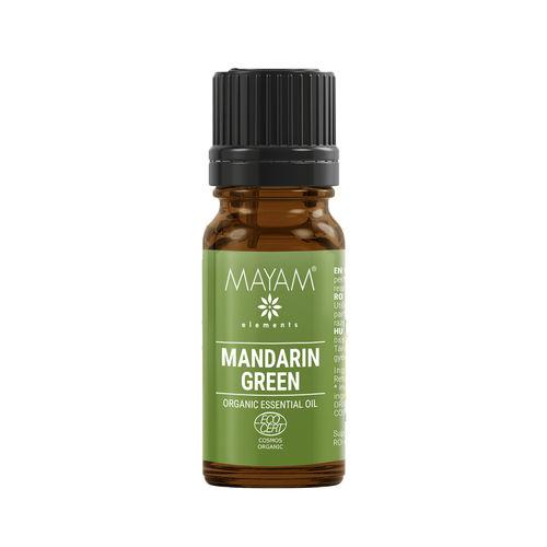 Ulei Esențial de Mandarină Verde Bio, 10ml | MAYAM