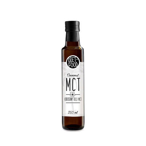 Ulei de cocos MCT, 250ml | Diet-Food