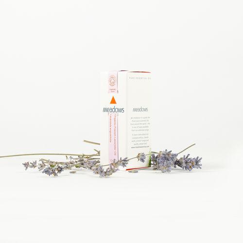 Ulei Esențial Organic de Lavandă Franceză, 10ml | Meadows Aroma