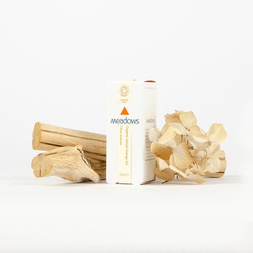 Ulei Esențial Organic de Portocală Dulce, 10ml | Meadows Aroma