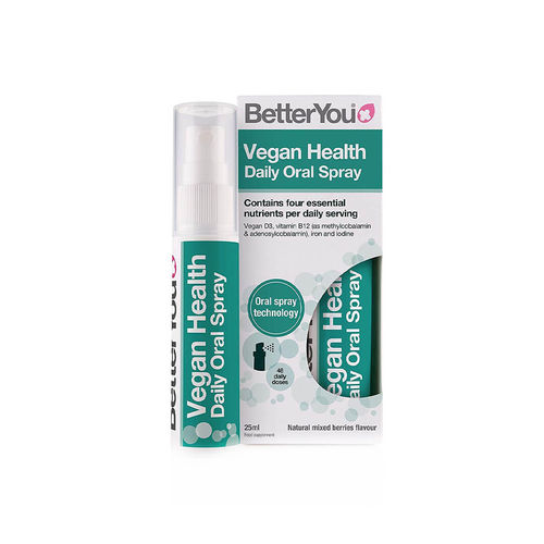 Vegan Health Oral Spray, 25ml | BetterYou