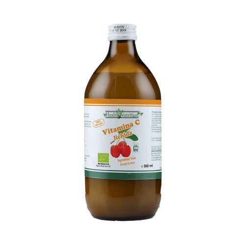 Vitamina C lichidă Bio, 500 ml | Health Nutrition